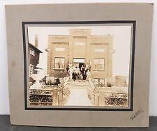 RARE Original c.1937 Guglielmo Marconi Society Sault Ste. Marie, ON Fausto Photo