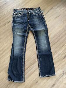 Original Rock Revival Jeans Dara Boot Gr 32