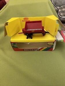 Britains Farm Vicon Towed Vari Spreader Boxed 1/32 Vintage Model Excellent Cond