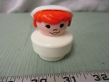 Fisher Price Little People Chunky Jumbo Girl Woman Nurse hospital Dr. medical