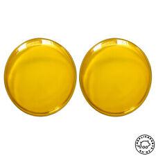 VW Hella headlight lens yellow for US delivered Beetle Kafer Bug to 07-1967 x2