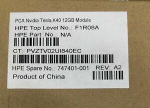 HP Nvidia Tesla K40  GPU 12GB  747401-001 F1R08A