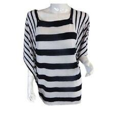 Regular Size Polyester Striped Tops & Blouses for Women