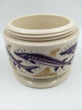 More details for w g white london wade porcelain co armagh caviar pot