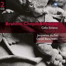 Daniel Barenboim - Brahms Chopin and Franck Cello Sonatas [CD]