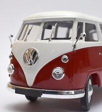 Solido Klassiker VW Volkswagen T1 Bulli in rot weiss lackiert, OVP, 1:18, K012