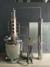 "800 L (211 gallon) Still 10"" column - craft micro distillery copper stainless"