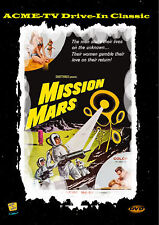 Mission Mars New DVD-R Worldwide Cult Classic