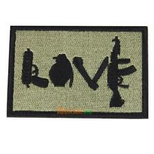 Morale Military Patch love Perfect for clothes  Backpacks etc #ORP