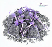 Lavender Bags Sachets Wardrobe Drawer Aromatic Repel Calming Air Fresh Organza