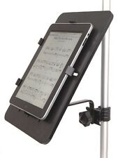 iPad / tablet PC Holder fits Microphone Stands - Great for Karaoke and score