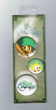WAKFU - LOT DE 3 BADGES - NEUF