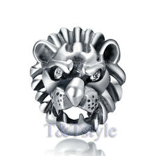 High Quality T&T 316L Stainless Steel Lion Stud Earring Single (EZ45)