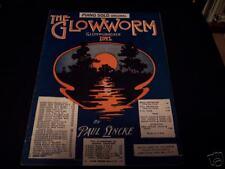 THE GLOW-WORM GLUHWURMCHEN IDYL..1932 SHEET MUSIC..