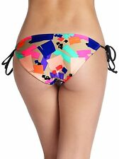 * NWT $88  SHOSHANNA  SIZE SMALL  CONFETTI  STRING TIE  HIPSTER  BOTTOM
