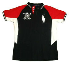 Men's Polo Ralph Lauren Big Pony Polo Shirt Size Large Embroidered #3 Flag Crest