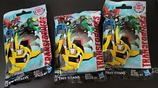 Lot of 3 Transformers Robots in Disguise Series 3 Tiny Titans Blind Bag
