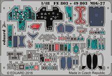 Eduard PE 49803 1/48 Mikoyan mig-27 dettagli interni Trombettista