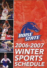 2006-07 BOISE STATE UNIVERSITY BASKETBALL AND WINTER SPORTS POCKET SCHEDULE