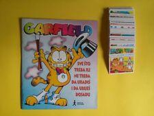 Garfield 2000 Album empty + complete SET all stickers 1-204
