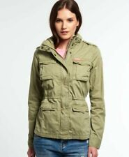 SUPERDRY THE ROOKIE MILITARY JACKET WITH HOOD