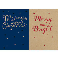Help For Heroes Christmas Card Pack (Medium) - Merry Christmas (5 of Each)