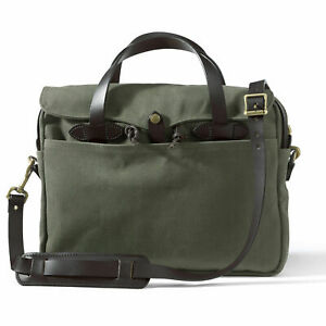 Filson Original Briefcase 70256 Rugged Twill  11070256 Otter Green