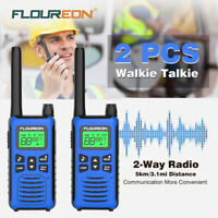 Walkie Talkies Long Range Two Way Radio 16CH PMR 446MHZ VOX Dual Channel Monitor