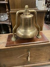More details for beautiful vintage very large brass bell maybe boxing naval etc