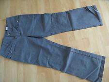 OUI Set schöne Jeans weites Bein hellgrau Gr. 40 w. NEU (BE 614)