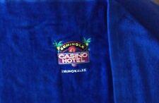 Immokalee Casino And Hotel Royal Blue Beach Towel 60 X 36