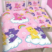 Care Bears Share Single Rotary Duvet Cover Bed Set New Gift
