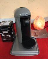 Breville Nespresso Vertuo Plus Gray & Aeroccino 3  Coffee & Expresso Maker