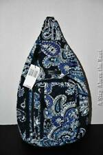 Vera Bradley Sling Backpack in Deep Night Paisley #24947-P57 NWT