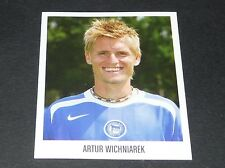 31 ARTUR WICHNIAREK HERTHA BERLIN PANINI FUSSBALL 2005-2006 BUNDESLIGA FOOTBALL