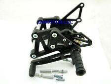 06 07 08 09 10 ZX10R 10R BILLET BLACK ADJUSTABLE RACING REARSET Made in USA