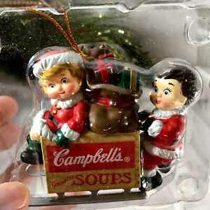 Campbell's Soup Ornament