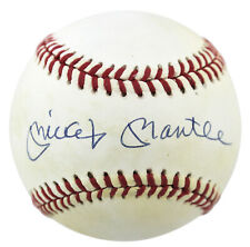 Yankees Mickey Mantle Signed Authentic Oal Baseball UDA #Udg20673