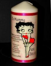 Betty Boop personalised keepsake candle unique collectable gift present  Mum #1
