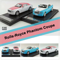 New Original 1:64 Scale Rolls-Royce Phantom Coupe Diecast Car Model Collectibles