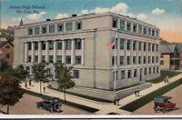 Postcard Junior High School Oil City PA