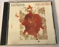FOO FIGHTERS - TIMES LIKE THESE (Rare OOP Promo CD Single, Grohl, Nirvana)