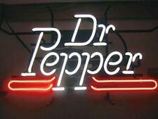 """Dr Pepper 14""""x10"""" Neon Sign Lamp Light Beer Bar Decor Glass Wall With Dimmer"""