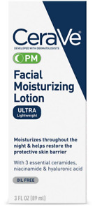 CeraVe PM Facial Moisturizing Lotion 3 fl. oz.  NIB