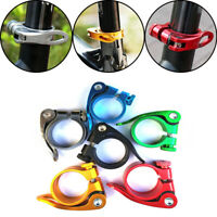 31.8mm Aluminum Alloy Quick Release Cycling Seatposts Clamp Saddle Fixed
