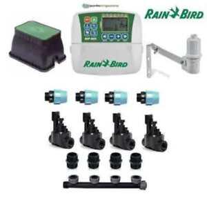 ensemble irrigation Pluie Bird 4 stations zones avec unité de contrôle