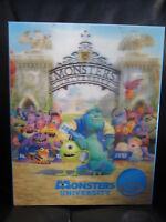 Monsters University Kimchidvd Exclusive 7 Lenticular Slip Blu-Ray Steelbook New