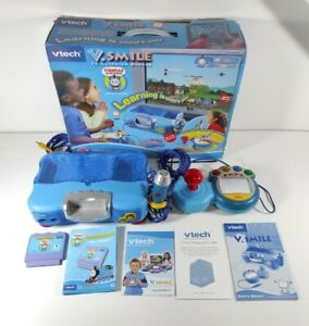 Vtech V. Smile Thomas & Friends Console Boxed Complete Kids Educational Learning