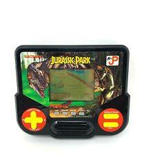 1988 Vintage Tiger Electronics Jurassic Park Hand Held Video Game Tested Works