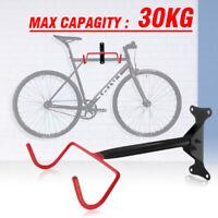 Garage Wall Mounted Bike Bicycle Cycle Storage Hanger Rack Hook Holder &